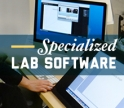 Specialized lab software available to faculty