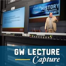 GW Lecture Capture